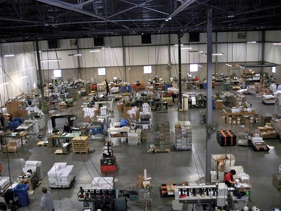 Large Manufacturing Facility Electrical Rework