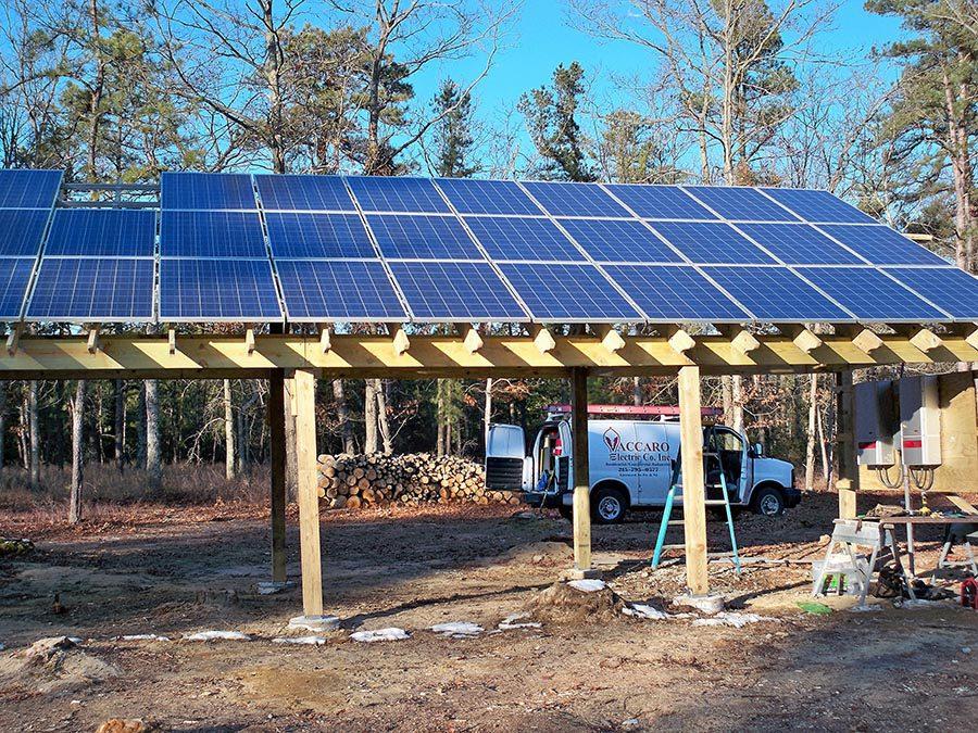 Industrial Solar Panel Installation